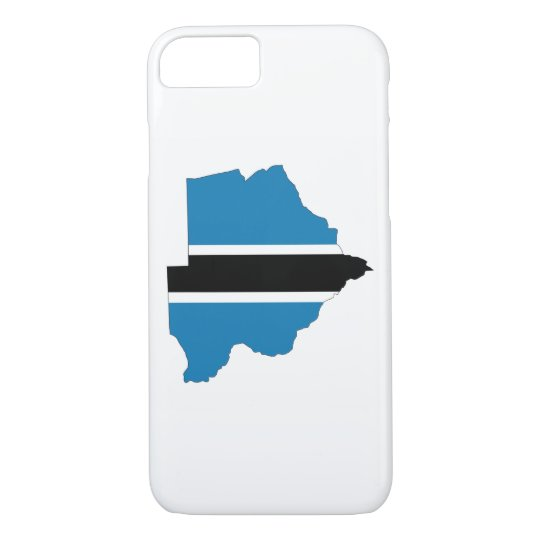 botswana country flag map shape silhouette symbol iPhone