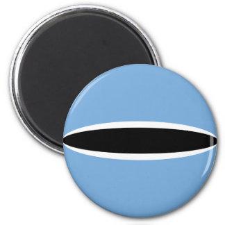 Botswana Fisheye Flag Magnet