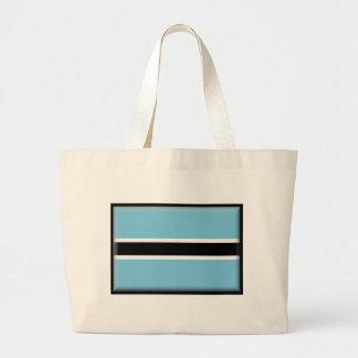 Botswana Flag Canvas Bag