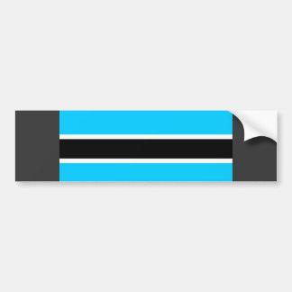 Botswana Flag Bumper Stickers