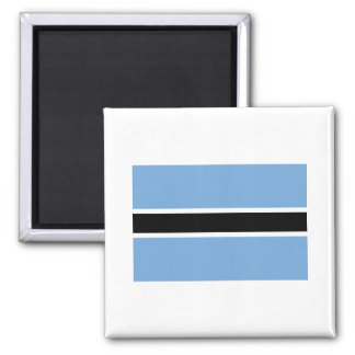Botswana Flag BW Magnet