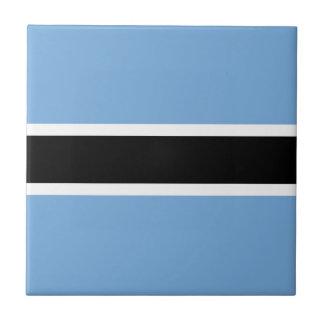 Botswana Flag Ceramic Tile
