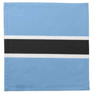 Botswana Flag Napkin