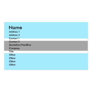 Botswana Flag Pack Of Standard Business Cards