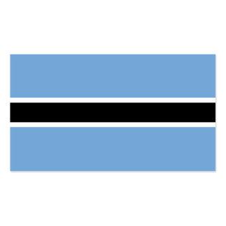 Botswana Flag Pack Of Standard Business Cards