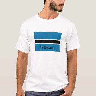 Botswana flag souvenir tee shirt
