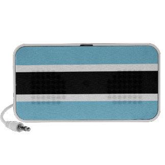 Botswana Flag Laptop Speakers