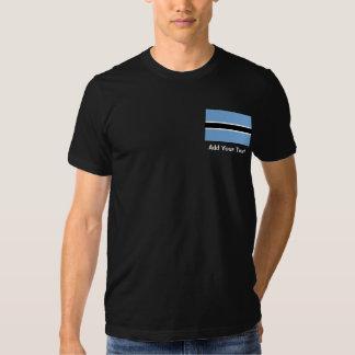 Botswana Flag Tshirt