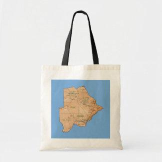 Botswana Map Bag