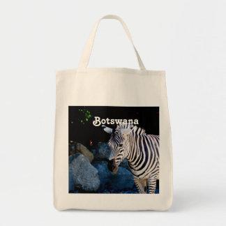 Botswana Zebra Canvas Bags