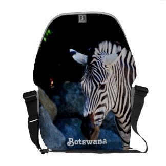 Botswana Zebra Courier Bags