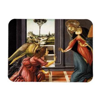 Botticelli Annunciation Rectangular Photo Magnet