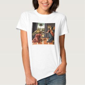 Botticelli Annunciation Tee Shirts