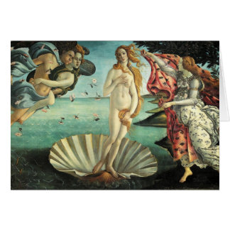 Botticelli - Birth of Venus Card