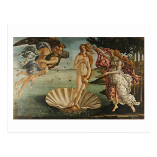 Botticelli, Birth of Venus Postcard