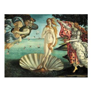 Botticelli - Birth of Venus Post Card