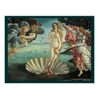 botticelli birth of venus poster