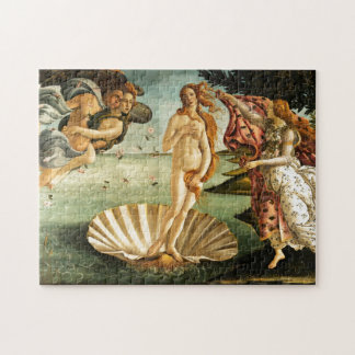 Botticelli Birth Of Venus Renaissance Art Painting Jigsaw Puzzle