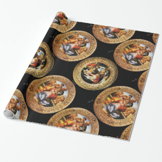BOTTICELLI MADONNA OF POMEGRANATE AND MAGNIFICAT WRAPPING PAPER