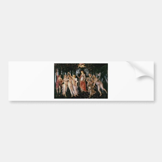 Botticelli-primavera Bumper Sticker