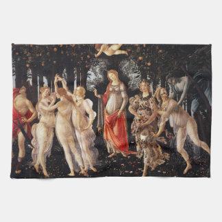Botticelli Primavera Kitchen Towel