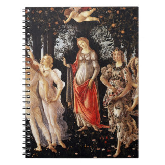 Botticelli Primavera Notebook