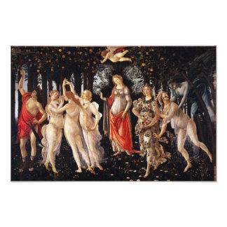 Botticelli Primavera Photo Print