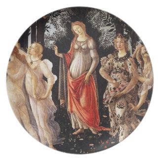 Botticelli Primavera Plate