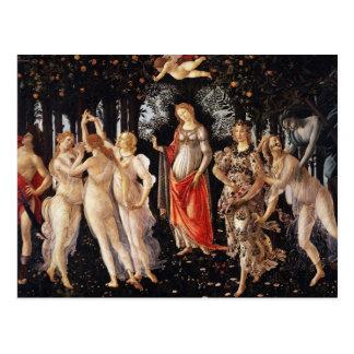 Botticelli Primavera Postcard