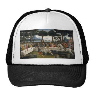 Botticelli Renaissance Painting Cap