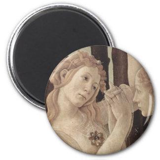 Botticelli s Three Graces Magnet