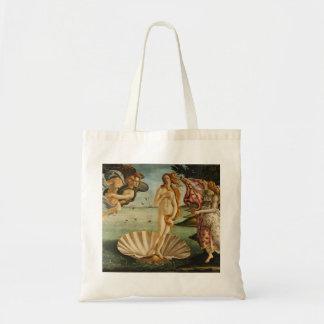 Botticelli The Birth of Venus Budget Tote Bag
