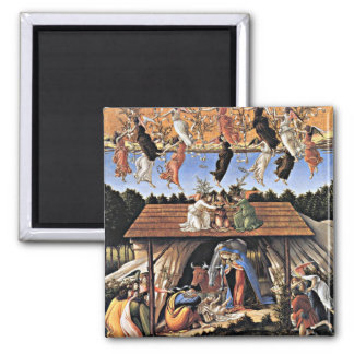 Botticelli The Mystical Nativity Refrigerator Magnets