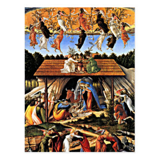 Botticelli - The Mystical Nativity Postcard