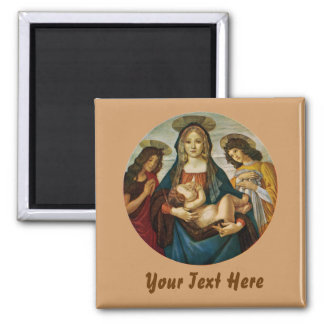 Botticelli's Madonna And Child Magnet