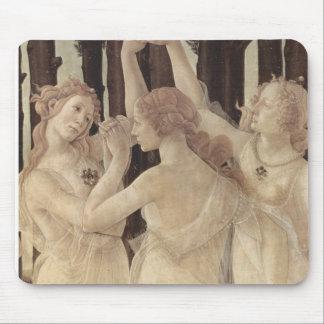 Botticelli's Three Graces Mousepad