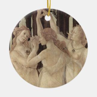Botticelli's Three Graces Ornament