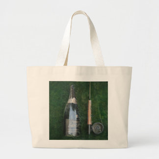 Bottle and Rob II 2012 Large Tote Bag