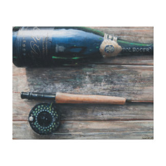 Bottle and Rod I 2012 Canvas Print