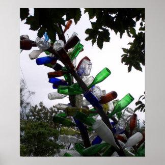 Bottle Arbor Poster