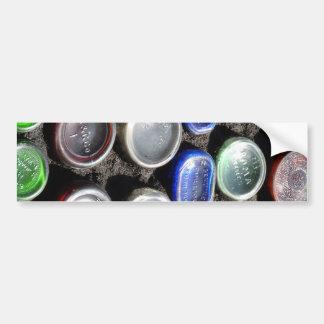 "Bottle Art ""Upcycled"" bottles Photography Bumper Sticker"