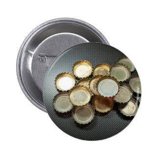 Bottle caps 2 inch round button