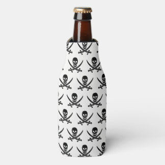 Bottle Cooler-Pirate Skull Bottle Cooler