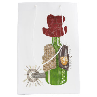 Bottle Cowboy Gift Bag