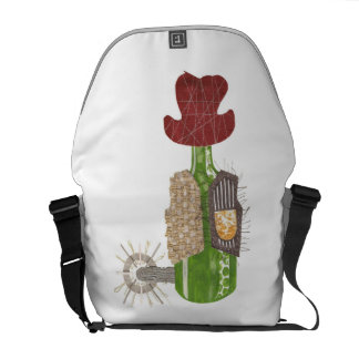 Bottle Cowboy Rusksack Courier Bag
