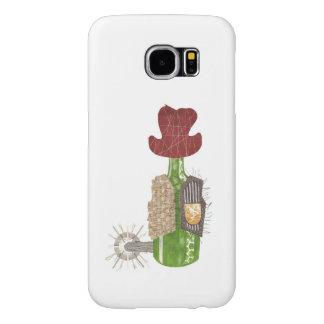 Bottle Cowboy Samsung Galaxy S6 Case