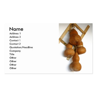 Bottle gourds pack of standard business cards
