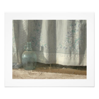 Bottle in the Window Photographic Print