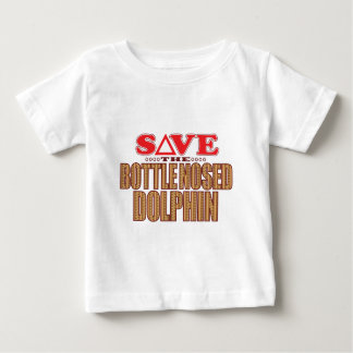 Bottle Nosed Dolphin Save Baby T-Shirt
