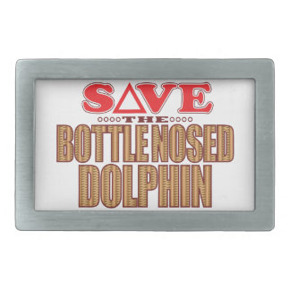 Bottle Nosed Dolphin Save Belt Buckle